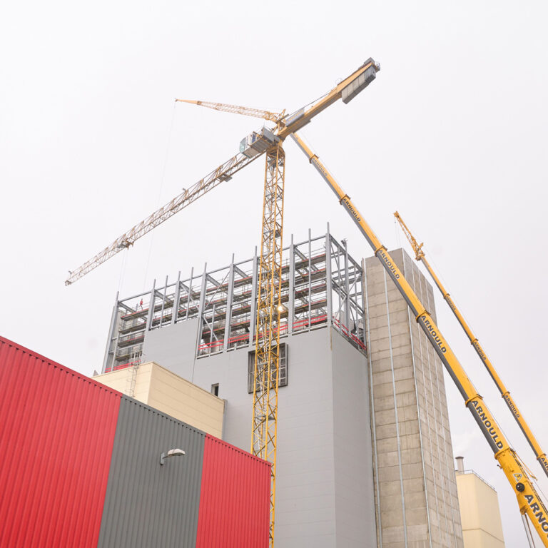 New installation: drying tower in May 2021
